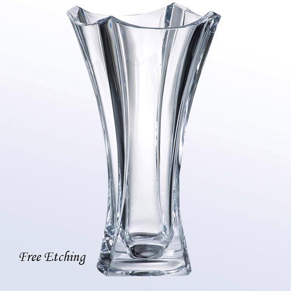 Colosseum Vase European Crystal