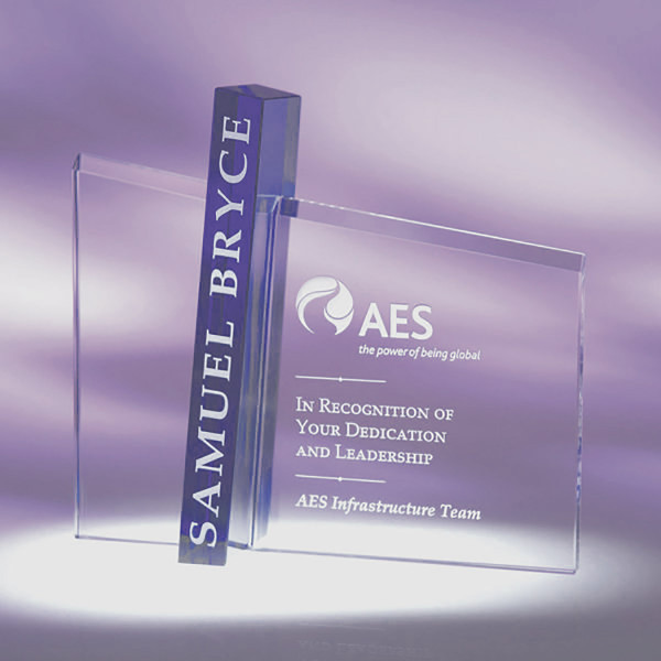 Acumen Award Shown Etched