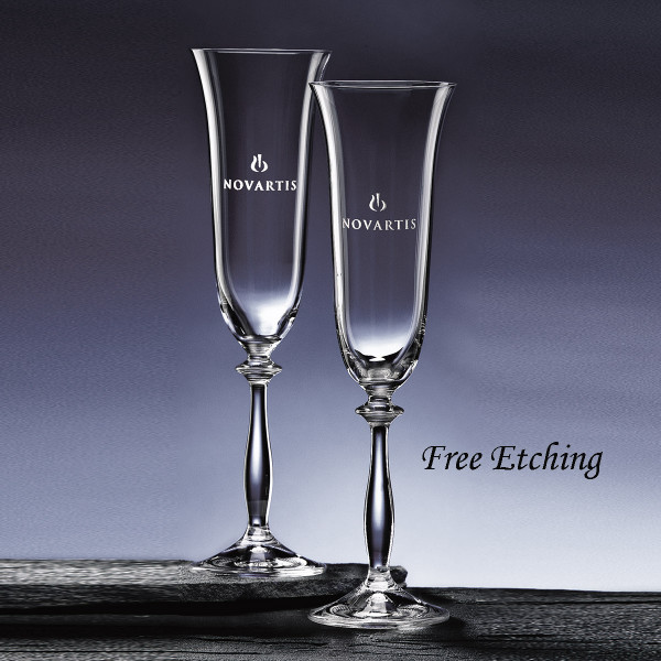 Angela Flute Glass