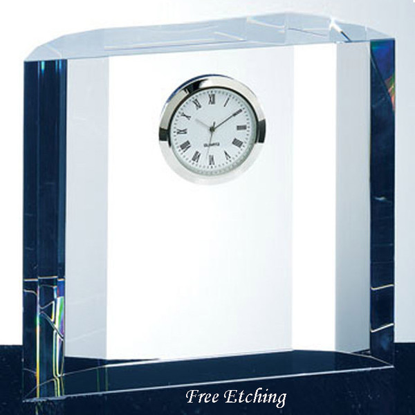Fantasy Crystal Desk Clock