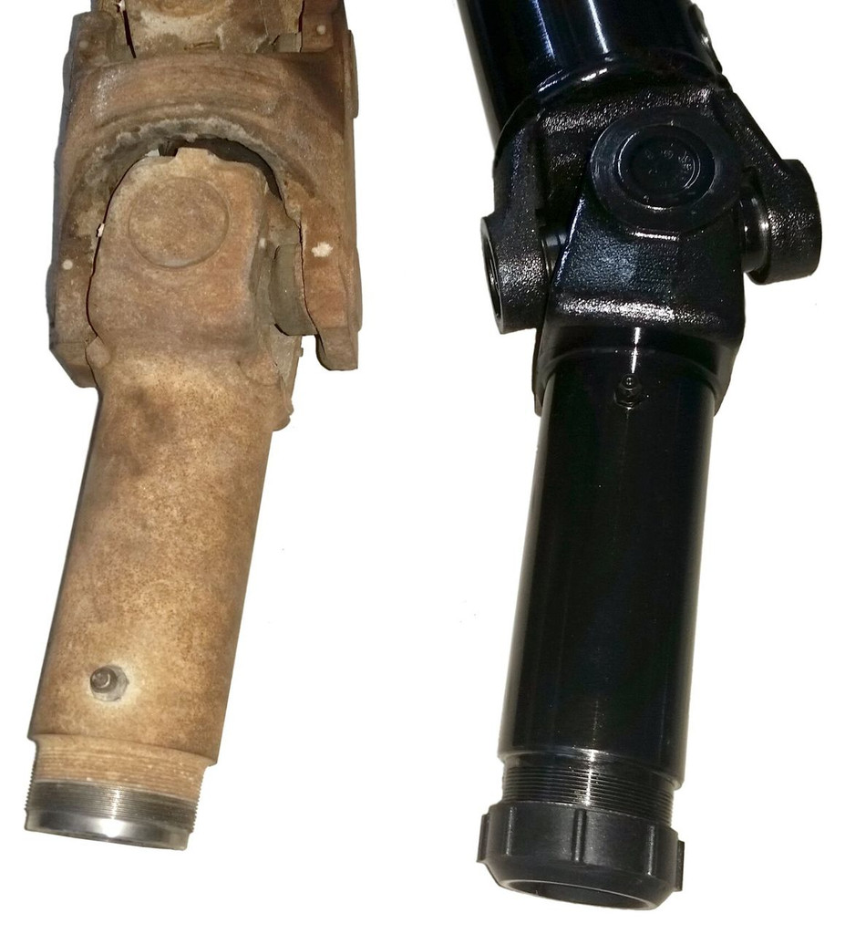 1995-2003 S10 & Sonoma Rear drive shaft -CONVERSION - NEW no core charge