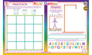 Kids Games Placemat