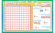 Let's Learn: Subtraction Placemat