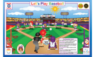 Let's Play: Baseball Placemat