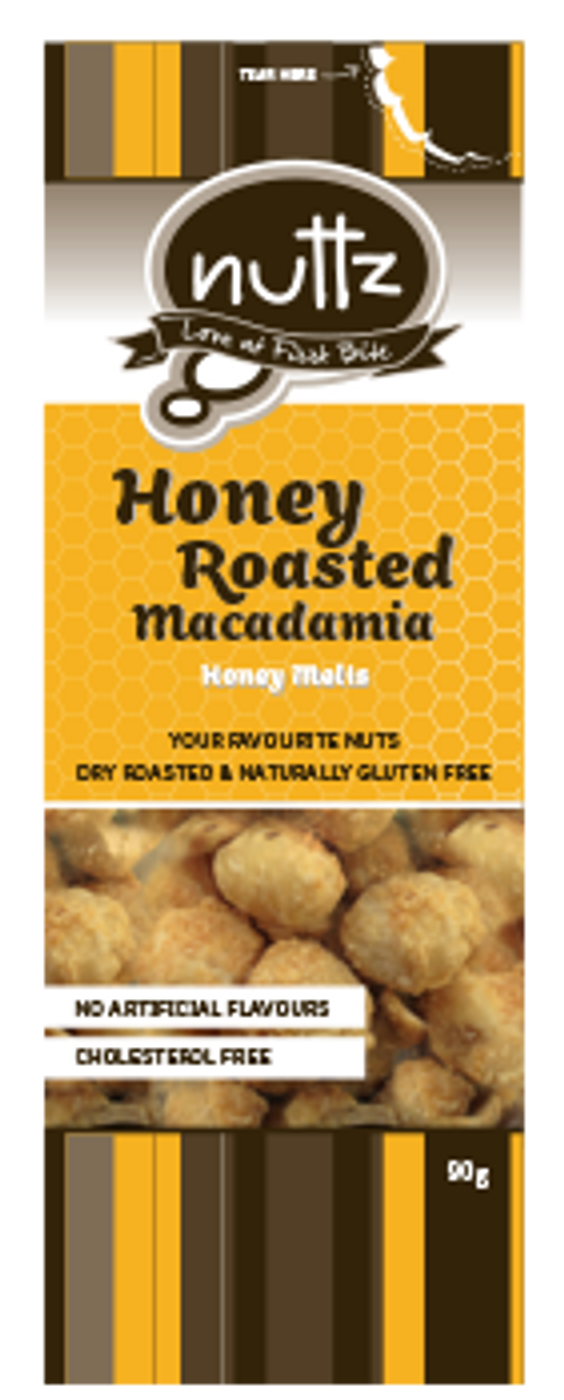 Honey Roasted Macadamia 90g