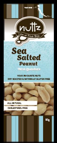 Sea Salted Peanuts 90g