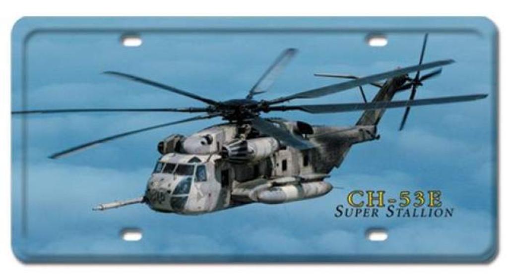 Vintage-Retro CH-53E Super Stallion License Plate