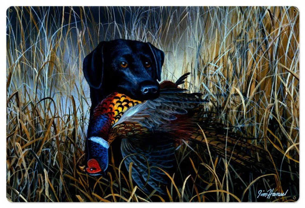 Bird Season Metal Sign 36 x 24 Inches