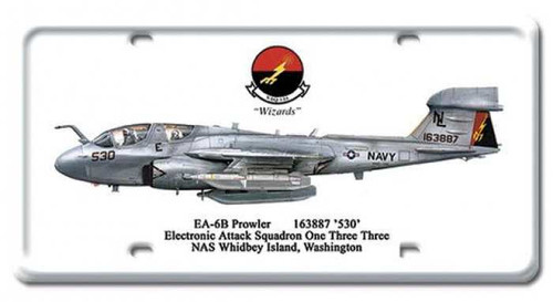 Vintage-Retro EA-6B Prowler License Plate