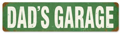 Vintage-Retro Dad's Gagare Metal-Tin Sign