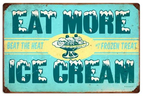 Vintage-Retro Ice Cream Metal-Tin Sign 2