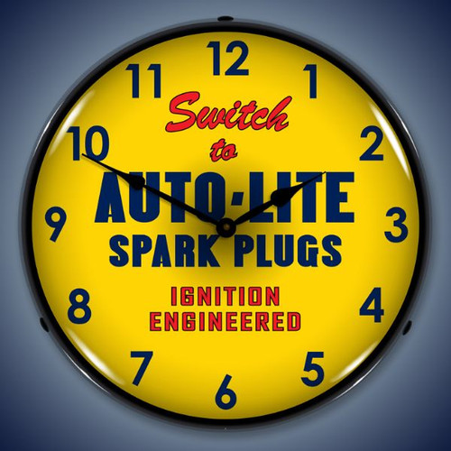 Vintage-Retro  Autolite Lighted Wall Clock