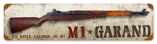 Vintage-Retro M1 Garand Metal-Tin Sign