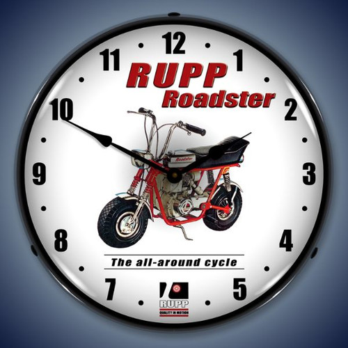 Vintage-Retro  Rupp Minibike Lighted Wall Clock