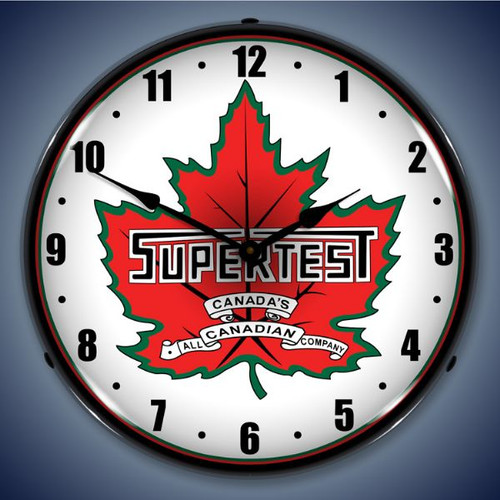 Vintage-Retro  Super Test Lighted Wall Clock