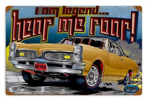 Vintage I am Legend Metal Sign