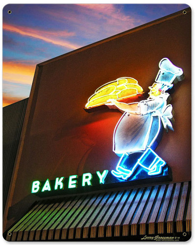 Bakery Metal Sign 12 x 15 Inches