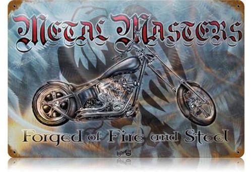 Vintage-Retro Metal Master Metal-Tin Sign