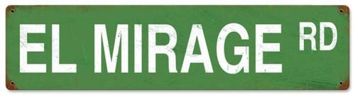 Vintage-Retro El Mirage Road Metal-Tin Sign