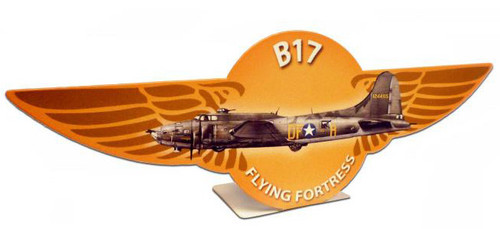 B17 Flying Fortress  Table Topper 11 x 4 Inches