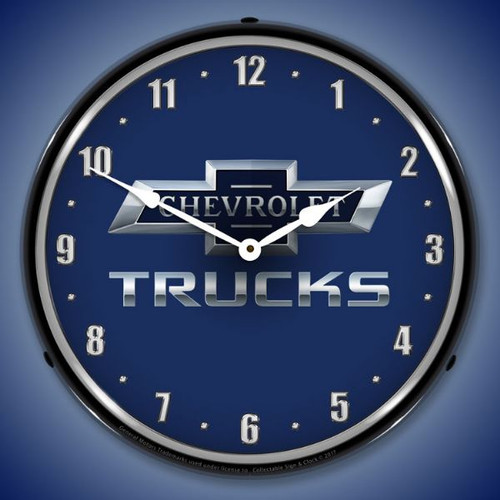 Chevrolet Trucks 100th Anniversary Lighted Wall Clock 14 x 14 Inches