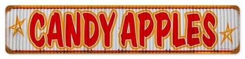 Vintage-Retro Candy Apples Metal-Tin Sign