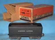 6654T Lionel Lines Tender (10/OB)