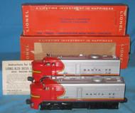 218 Santa Fe Alco AA Diesels w/ 218T (8/OB)