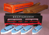 6416 Boat Transport Car: with sleeves (10/OB)