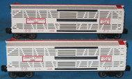 9408 Lionel Lines Bi-Level Circus Car - Set of Two (9)