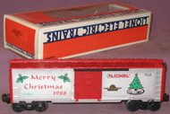 19904 Christmas Box Car: 1988 (9/OB)