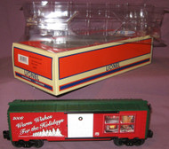25061 Christmas Box Car: 2008 (10/OB)