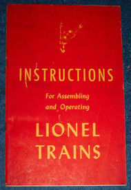 1947 Instructions For Assembling and Operating Lionel Trains (7+)