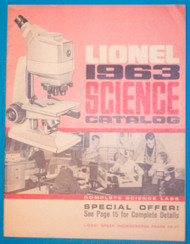 1963 Lionel Science Catalogue (8+)