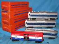 2412, 2412, 2416 & 3428 Santa Fe Passenger Set (7+/OB)
