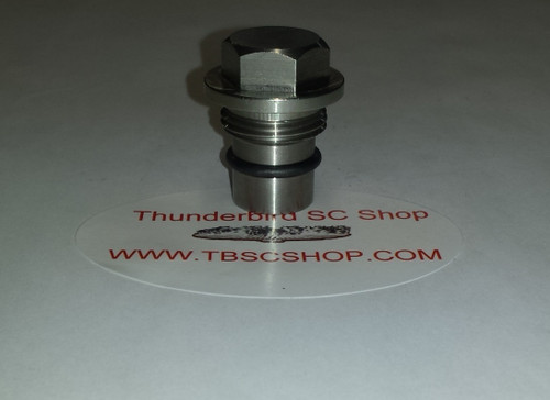 Cross Over Tube Plug - Stainless Steel - 4.6L DOHC