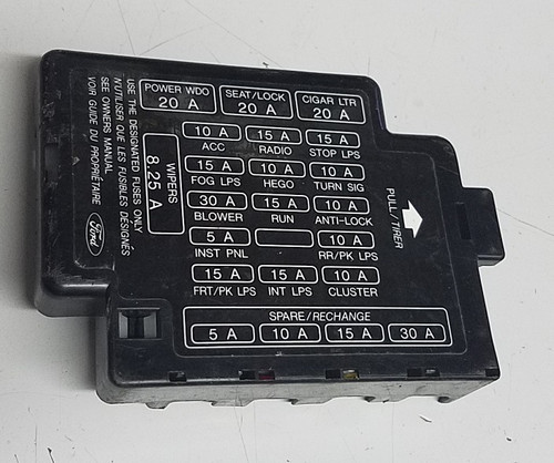 Fuse Box Cover - Dash - 1989 - 1993