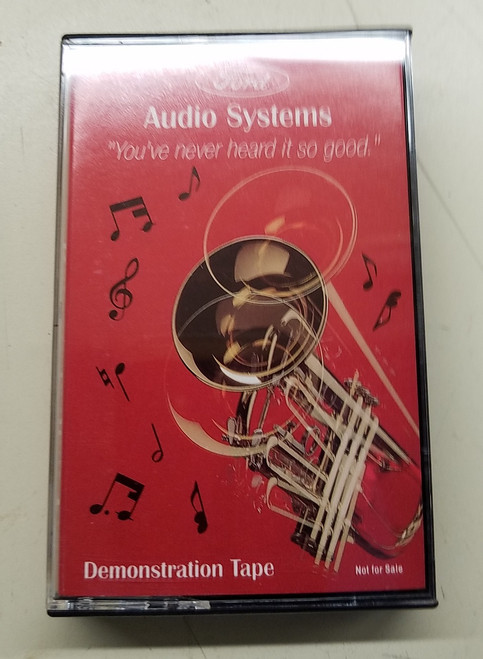 Ford Audio System Demonstration Tape - 1989 - 1993