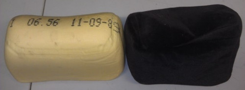 Head Rest Pad with Black Cloth Cover - 1989 - 1991