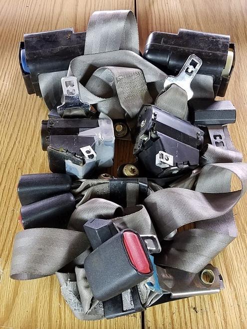 Seat Belt Set - Titanium - 1989 - 1993 - Grade A
