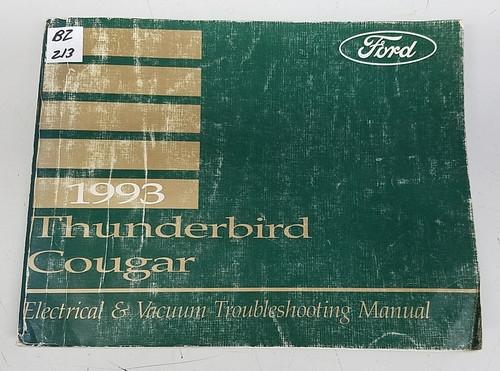 1993 Thunderbird / Cougar Electrical & Vacuum Manual - FPS-12116-93