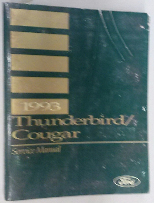 1993 Thunderbird / Cougar OEM Car Shop Manual - FPS-12196-93