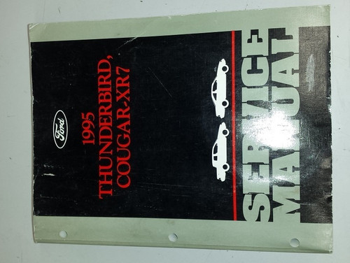 1995 Thunderbird / Cougar OEM Car Shop Manual - FCS-12196-95