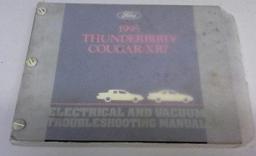 1995 Thunderbird / Cougar Electrical & Vacuum Manual - FCS-12116-95