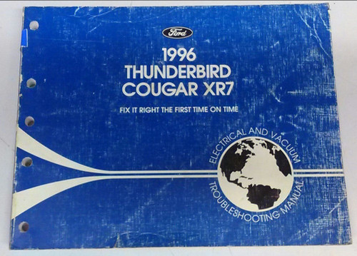 1996 Thunderbird / Cougar Electrical & Vacuum Manual - FCS-12116-96
