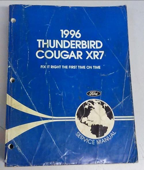 1996 Thunderbird / Cougar OEM Car Shop Manual - FCS-12196-96