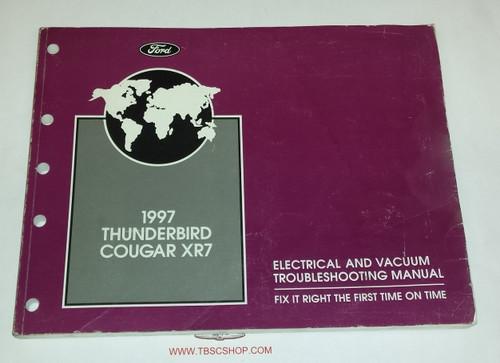 1997 Thunderbird / Cougar Electrical & Vacuum Manual - FCS-12116-97