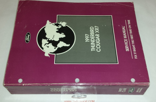 1997 Thunderbird / Cougar OEM Car Shop Manual - FCS-12196-97