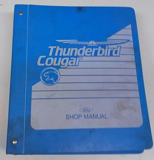 1989 Thunderbird / Cougar Electrical & Vacuum and Service Manual Set
