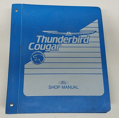 1989 Thunderbird / Cougar OEM Car Shop Manual - FPS-12196-89